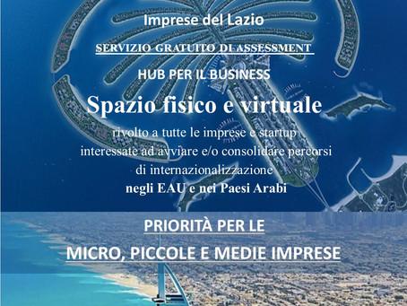 Aziende di Italy Space a Dubai con la Regione Lazio