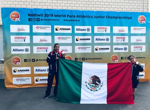 Inició #Nottwil2019 con doble medalla de ORO para México