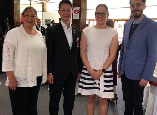 Ratificación del acuerdo de cooperación entre el COPAME y el gobierno de Hiroshima