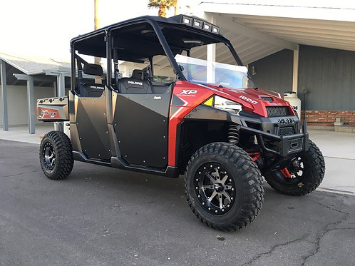 "MMA 2.5"" Lift Kit installed on a Polaris Ranger 1000 machine"