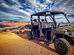 Polaris Ranger Fullsize 570 with MARSHALL MOTOART Lift Kit