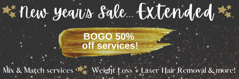New years sale extended BOGO 50% off se