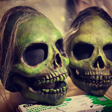 Rotten (Latex Half Mask) 2021