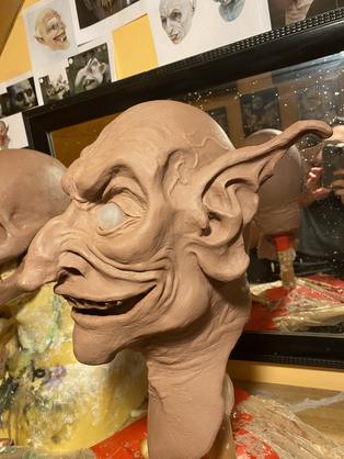 """Sculpt - """"Bloodsucker"""" Latext Puppet"""