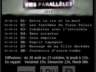 """Sylvain Bolduc est présent dans 2 épisodes de la série documentaire """"Vies Parallèles"""" à Canal D"""