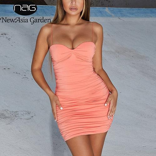 Sexy Backless Bodycon Club Dress