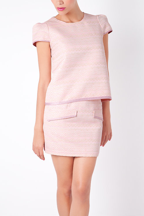 Pink Top & Skirt