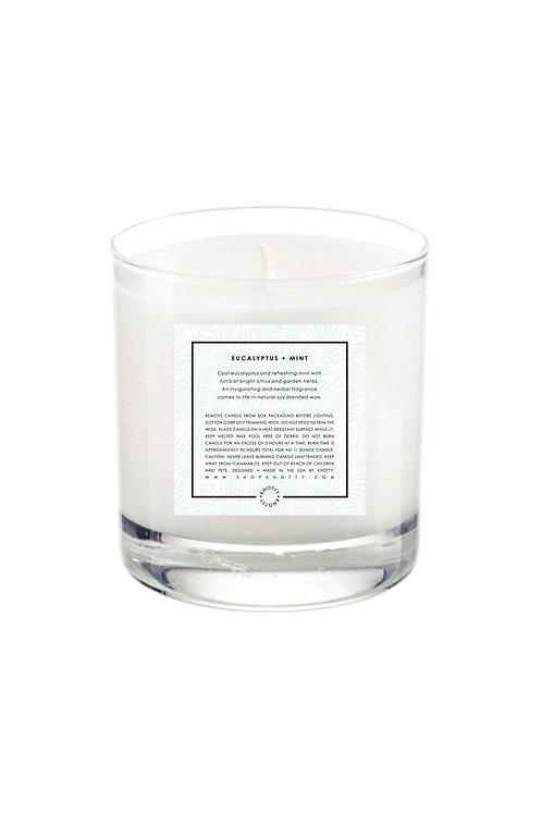 Soy Candle   Eucalyptus + Mint