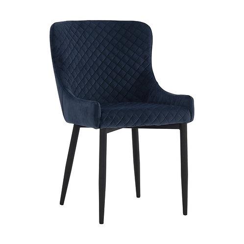 Saskia Dining Chair - Navy