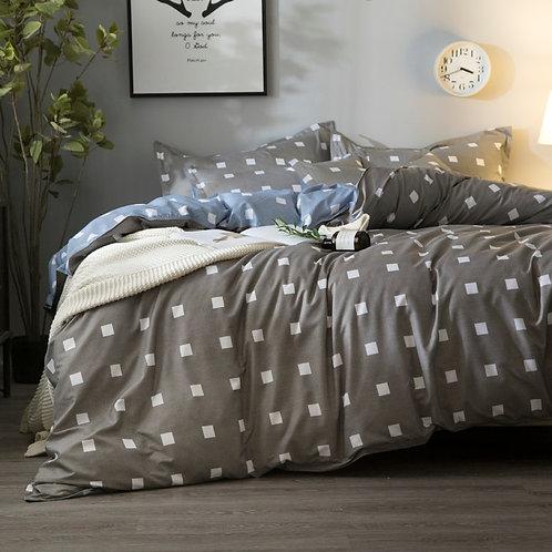 Flower Duvet Cover, Bed Sheet, Pillowcases Bedding Set for Kids