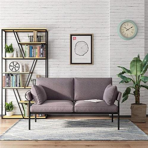 Modern Fabric Loveseat