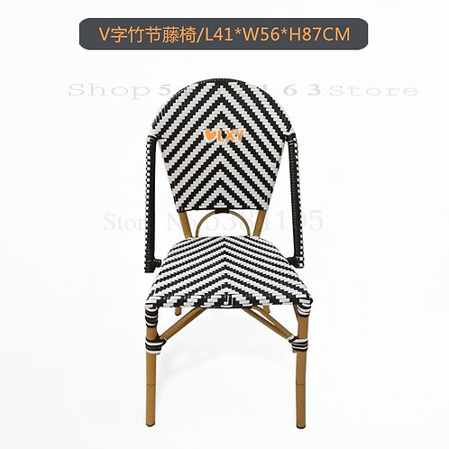 French Dining Rattan Chairs