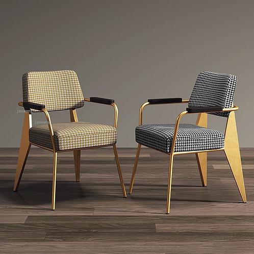 Nordic Post-Modern Minimalist Dining Chair American Loft Office Chair