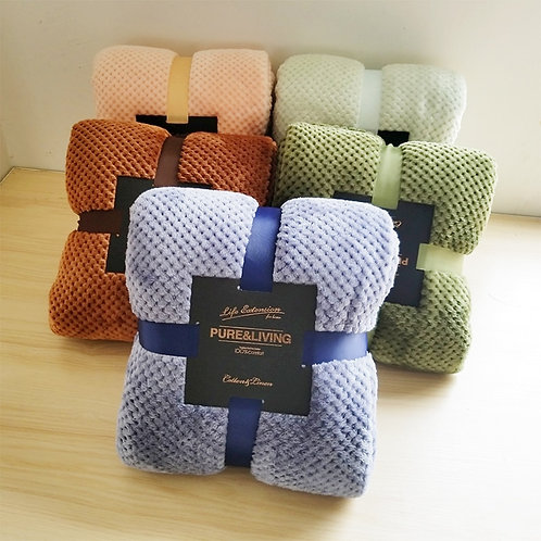 Soft Blankets Multi Sizes Available