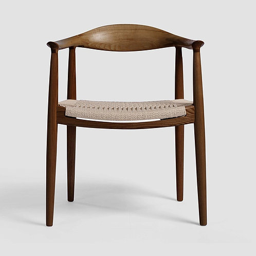 Embla Chair - Walnut & Natural Paper Cord Seat