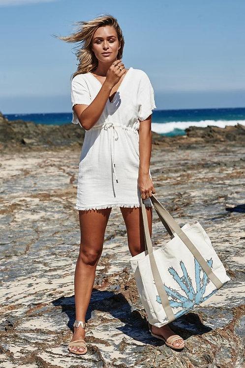 Akosée Beach Bag in Blue