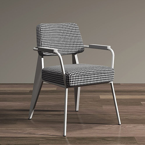 Nordic Post-Modern Minimalist Dining Chair American Loft Office Chair