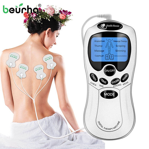 8 Mode Tens Muscle Stimulator Ems | Acupuncture & Massage