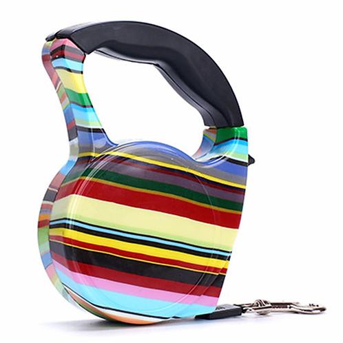 3m 5m Retractable Dog Leash 11 Colors Fashion Printed