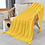 Thumbnail: Nordic Hand-Knitted Knitted Wool Chunky Knit Blanket Photo Props Tassel
