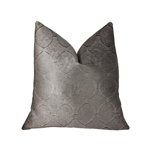 Moonlight Beige Luxury Throw Pillow