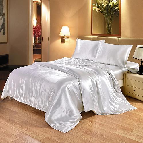 Silk Duvet Bedding Set - Single Queen King