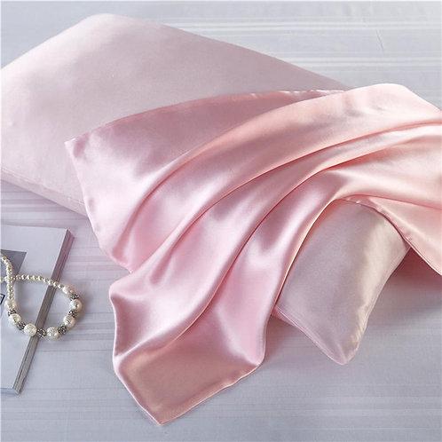 100% Natural Mulberry Silk Pillowcase Zipper Pillowcases Satin for Home Bedding