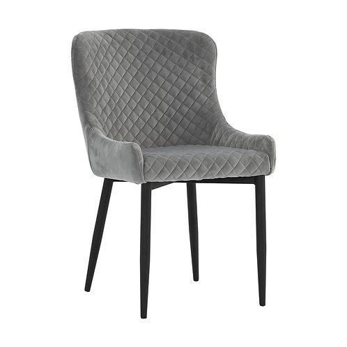 Saskia Dining Chair - Steel