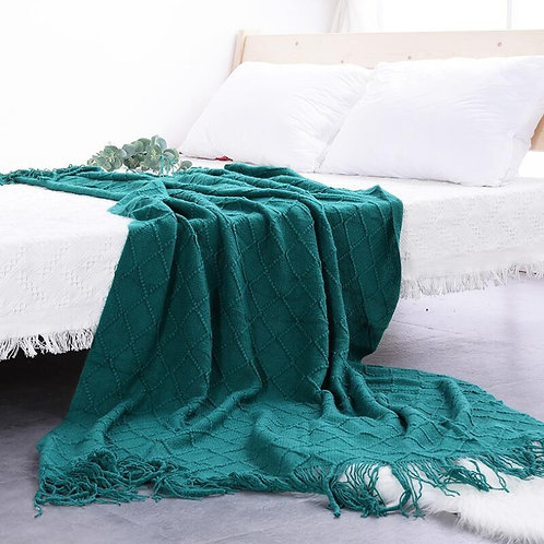 Nordic Knitted Throw Sofa Blanket