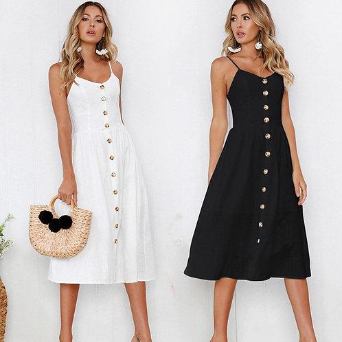 Backless Classic Summer Dress