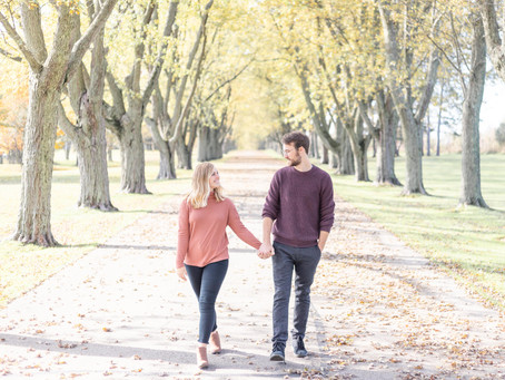 Amanda and Francis' Engagement Shoot in South Haven