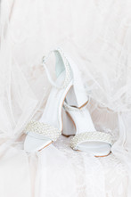 bride shoes heels Kent Country Club Wedding Grand Rapids