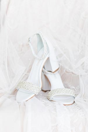 wedding shoes heels Kent Country Club Wedding Grand Rapids