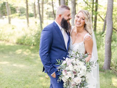 Jess + Chris | Charming, Elegant Wedding | Black River Barn | South Haven, MI