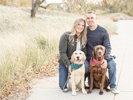 Melanie + Matt | Jean Klock Park | St. Joe, Michigan | Engagement Shoot