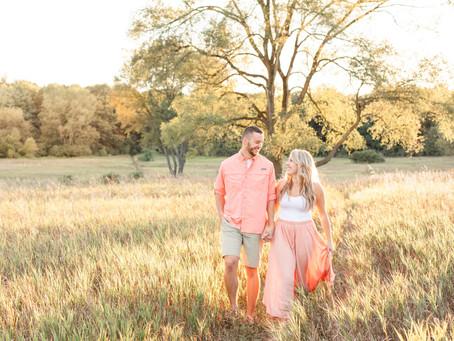Kellie and Taylor | Engagement Shoot | Al Sabo Land Preserve | Kalamazoo, MI