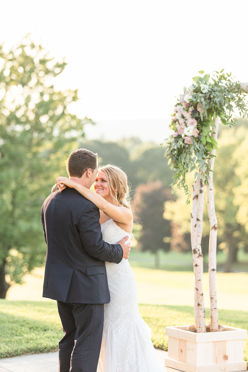 bride and groom first dance Kent Country Club Wedding Grand Rapids