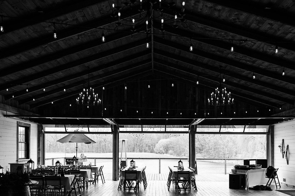 Josh and Andrea wedding photography husband and wife photographer team michigan Black Barn Wedding Venue rives junction spring venue