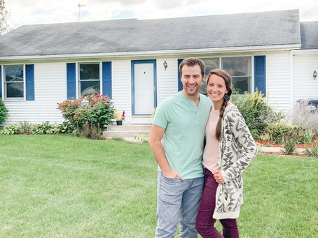 J&A Milestone: Our First House