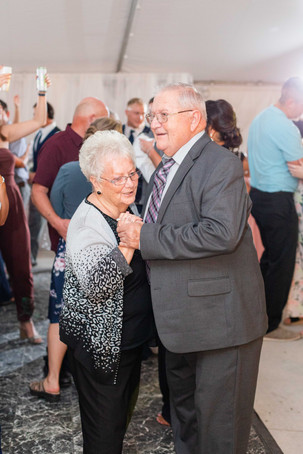 cute older couple dancing wedding American 1 event center Jackson michigan
