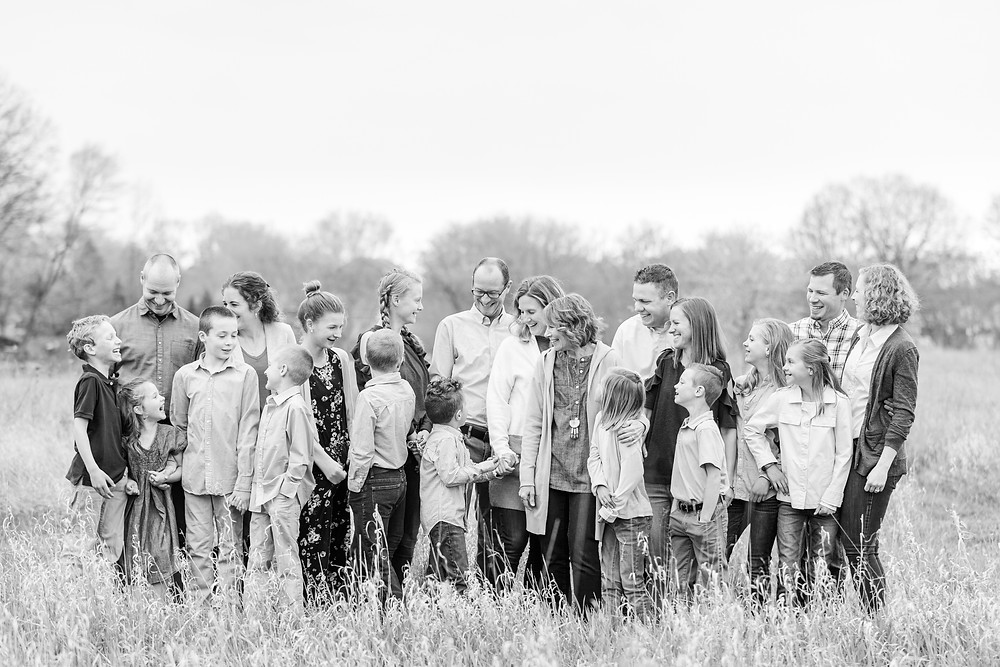 Josh and Andrea photography husband and wife photographer team michigan family portrait session grand rapids