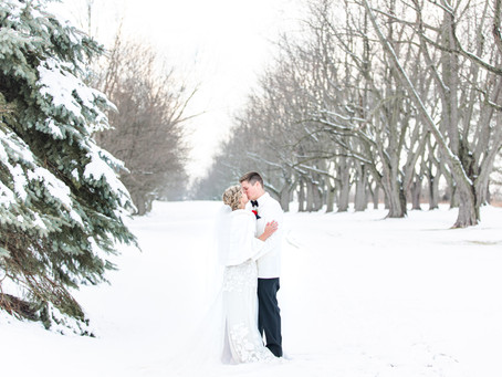 Nicala and Josh | Winter Wonderland Wedding | South Haven, MI