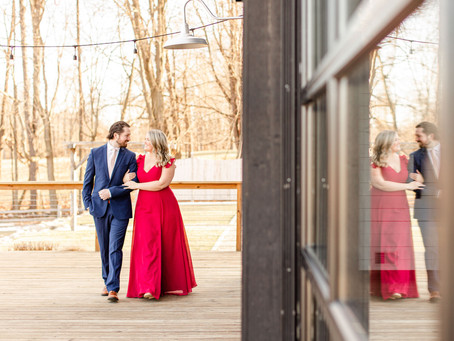 Samantha and Austin | Engagement | Black Barn Wedding Venue | Rives Junction, MI