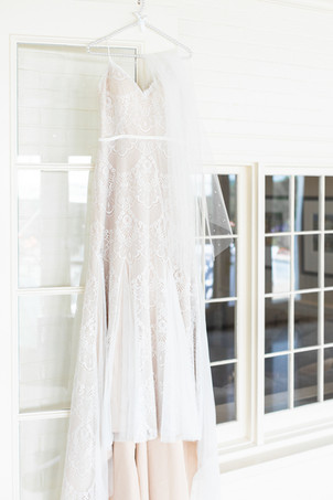 wedding dress Kent Country Club Wedding Grand Rapids