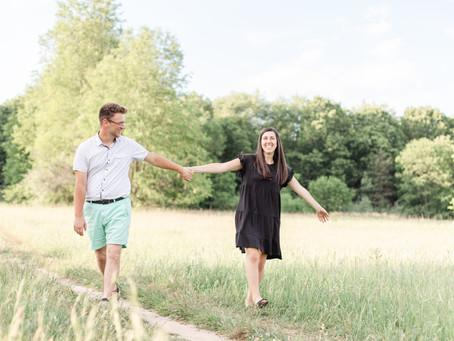 Emily + Jalen | Engagement | Al Sabo Land Preserve | Kalamazoo, MI