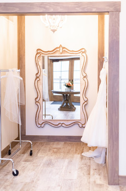black river barn south haven bridal suite mirror