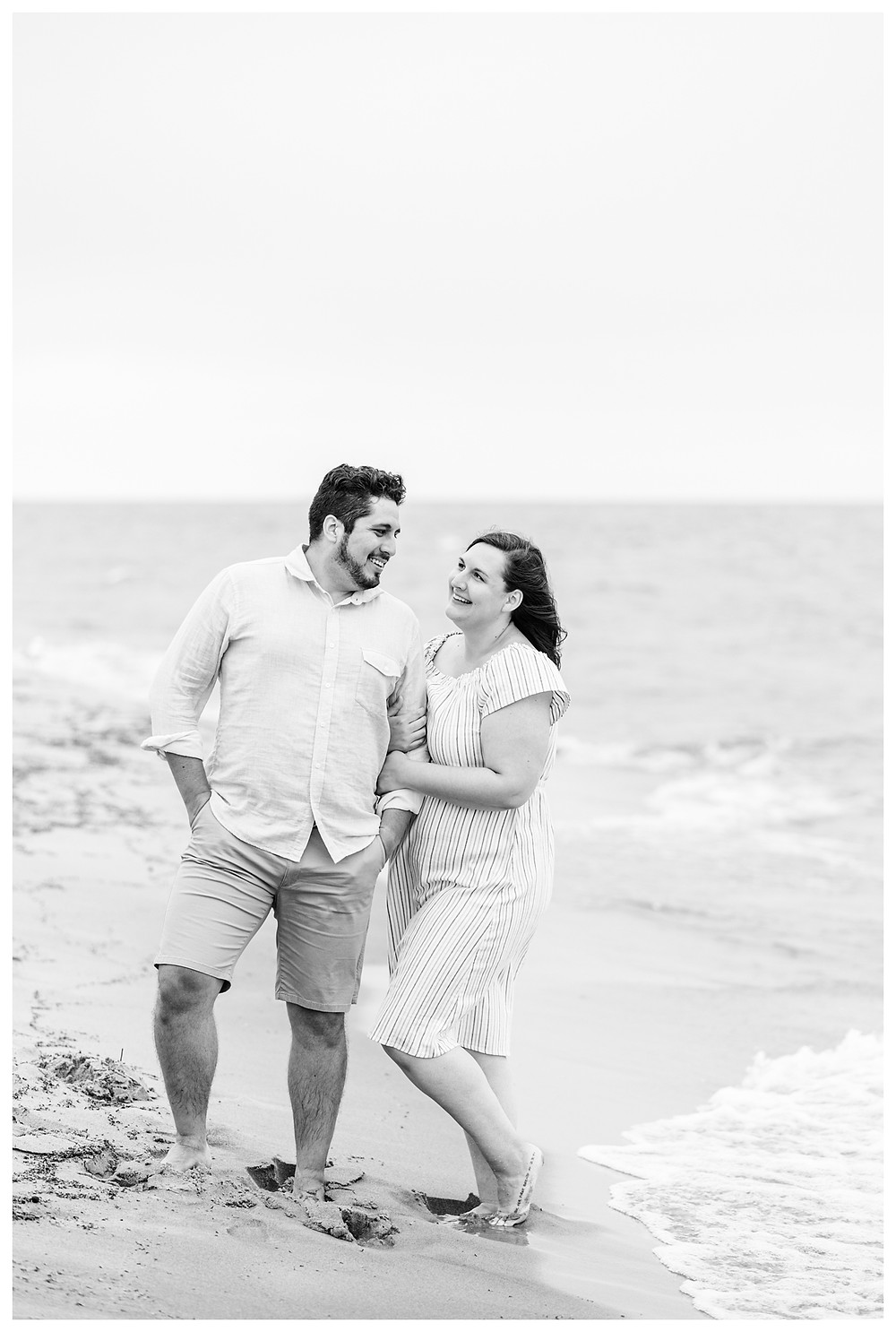 Josh and Andrea light airy joyful style wedding photography husband and wife photographer team michigan pictures photo shoot poses Riley Trails Tunnel Park engagement pictures session photo shoot fiance