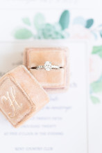 ring box details invitation suite Kent Country Club Wedding Grand Rapids