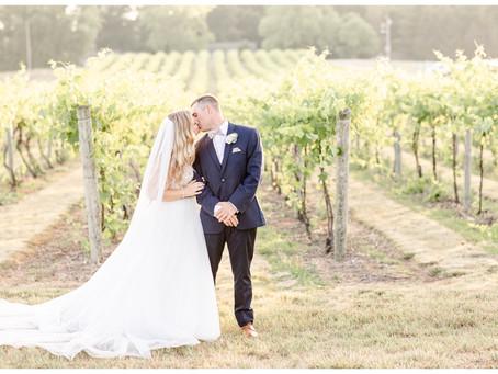 Melanie + Matt | Elegant Vineyard Wedding | The Vineyard at 12 Corners | Benton Harbor, Michigan