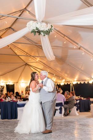 Bride and grandpa cute couple wedding American 1 event center Jackson michigan